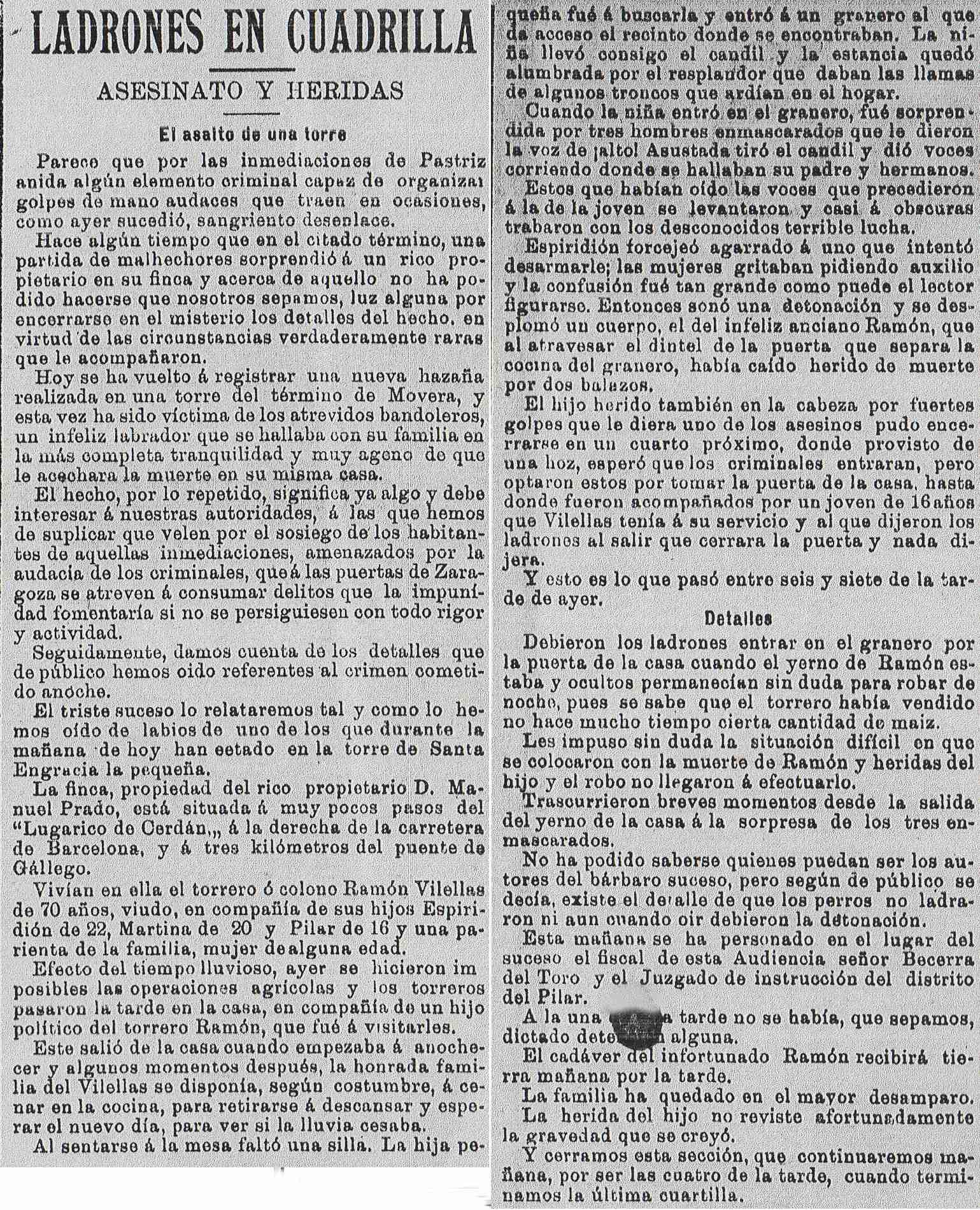 18921230_Asalto_La Derecha