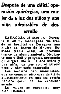 19330929_Trillizos_El Sol
