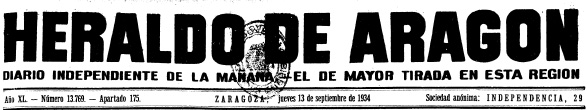 19340913_Herido por vaquilla_Cabecera