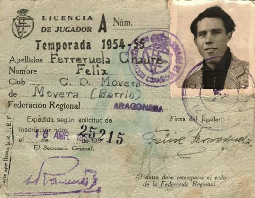 1954_1955_Licencia Felix Ferreruela_1