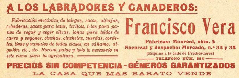 19180115_Francisco Vera