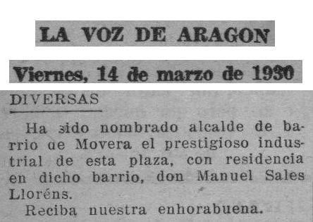 19300314_La Voz de Aragon_0002_Alcalde Sales